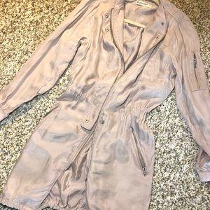 BLANK NYC blush pink jacket Sz XS
